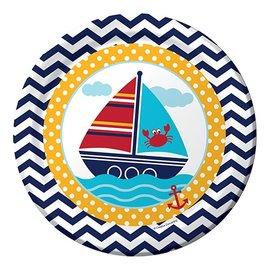 Plates-LN-Ahoy Mate-8pk-Paper - Discontinued