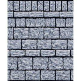 Scene setter-Stone Wall-Room Roll-Plastic