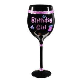 Glass-Wine-Fabulous Happy Birthday Girl