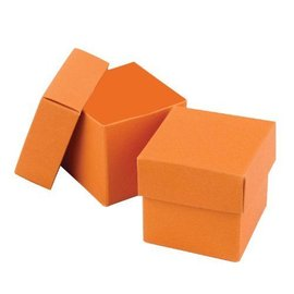 Favor Boxes- Orange- 25pk