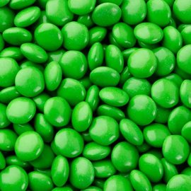 Candy-Green Chocolate Gems-500g
