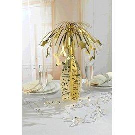 Centerpiece-Champagne bottle-Foil-19''