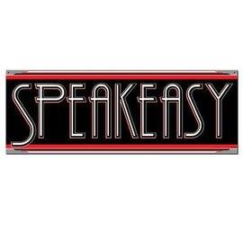"""Sign Banner-Cardstock-Speakeasy-1pkg-22"""""""