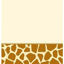 Tablecover-Rectangle-Giraffe Print-Plastic (Discontinued)