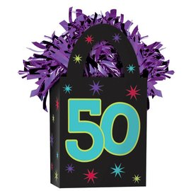 Balloon Weight-50th Birthday-5.7oz