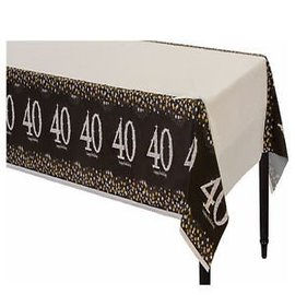 Table Cover - Sparkling Celebration 40-Plastoc-54'' x 102''