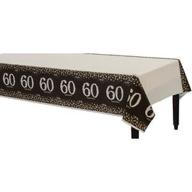 Table Cover - Sparkling Celebration 60-Plastic-54'' x 102''