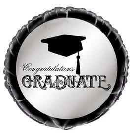 "Foil Balloon - Congratulations Graduate - 18"""