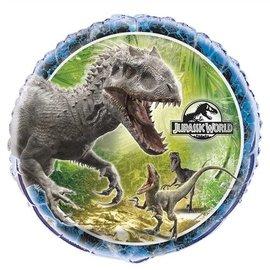 "Foil Balloon - Jurassic World - 18"""
