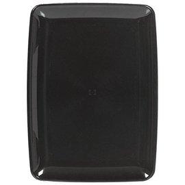 Serving Tray-Black-Small-Plastic-8'' x 11''