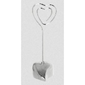 Place Card Holder-Heart-3''