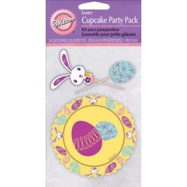 "Cupcake Combo Pack- Easter- 24 Cups 2"" & Picks 3"""