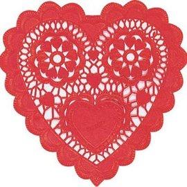 """Doilies-Red Heart-10""""-12pk"""