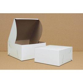Cake Box-White-Paper-4''x4''x4''