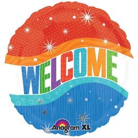 Foil Balloon - Warm Welcome - 18""