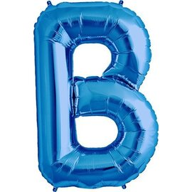 Foil Balloon - Blue B - 34''