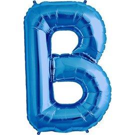 Foil Balloon - Blue B - 34''