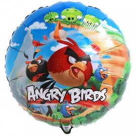 Foil Balloon - Angry Birds - 18""