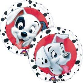 "Foil Balloon -101 Dalmatians - 18"""