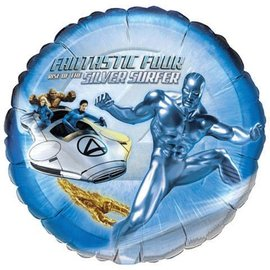 Foil Balloon - Fantastic Four Silver Surfer - 18""