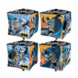 "Foil Balloon - Cube - Batman - 15""x15"""