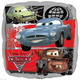 "Foil Balloon - Disney Cars 2 - 18"""