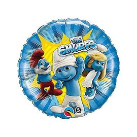Foil Balloon - The Smurfs - 18""