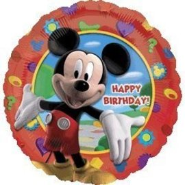 Foil Balloon - Mickey Mouse Happy Birthday - 18""