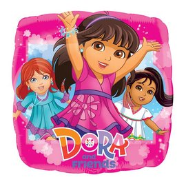 Foil Balloon - Dora and Friends - 18""