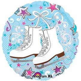 """Foil Balloon - Ice Skates - 18"""""""