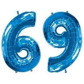 "Foil Balloon - #9 or #6 - 23""x34"""