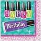Napkins-LN-HBD Sparkle Spa Party-16pk-2ply- Final Sale