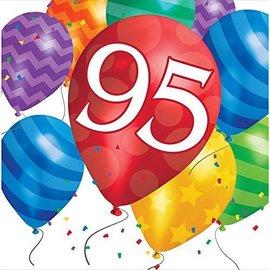 Napkins-LN-95th Balloon Blast-16pk-2ply - Discontinued