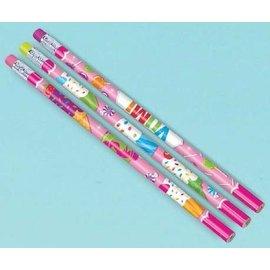 Party Favors-Sweet Shop Pencils-12pkg