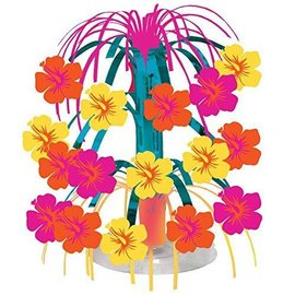 Centerpiece-Cascade-Sunserpt Flower Stripe-8.5''