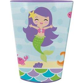 Plastic Cup-Mermaid Friends-1pkg-16oz