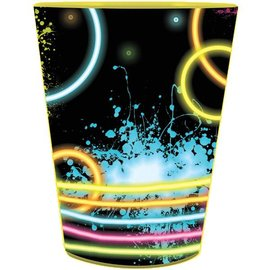Plastic Cup-Glow Party-1pkg-16oz - Discontinued