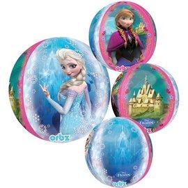 "Foil Balloon Orbz - Frozen - 15""x16"""