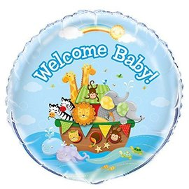 Foil Balloon - Welcome Baby - 18''