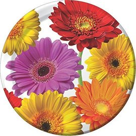 Plates-LN-Flower Fantasy-8pk-Paper (Discontinued)