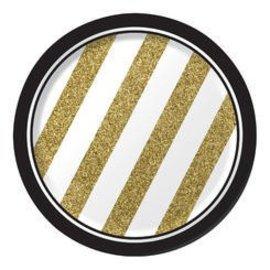 Plates-BEV-Black&Gold-8pk-Paper