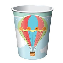 Cups-Up, Up & Away-Paper-9oz-8pk