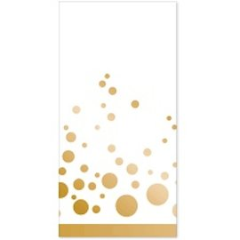 Napkins-Guest Towel-Sparkle Shine Gold-16pk-2ply - Discontinued