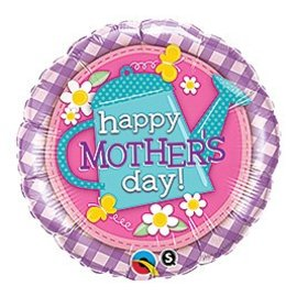 Foil Balloon - Happy Mother's Day Flower Garden - 18""