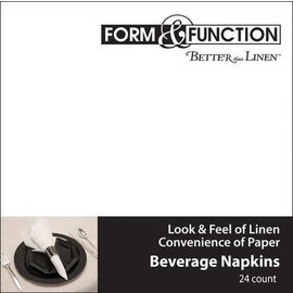 Napkins-BEV-White-24pk-3ply - Discontinued