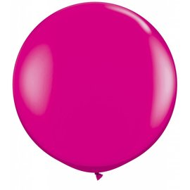 Latex Balloon-Wild Berry-1pkg-36""