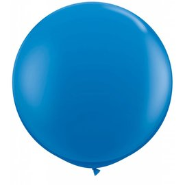 Latex Balloon-Dark Blue-1pkg-36""