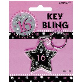 Key Bling-Sweet 16-1.2''