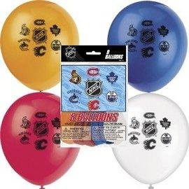 Balloon-Latex-NHL-12''-8pk