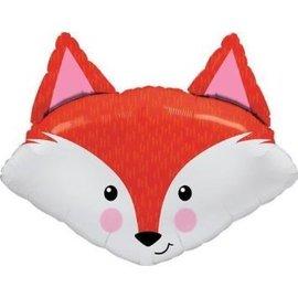 """Foil Balloon - Fox - 33"""""""